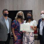 Recepção ao presidente do Conselho Regional de Engenharia e Agronomia de Santa Catarina na Unesc ganha tom de emoção