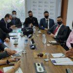 Gestora e lideranças estudantis representam Unesc em agenda com parlamentares em Brasília
