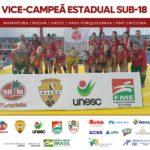 Com apoio da Unesc, vôlei de Criciúma é vice-campeão estadual