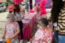 Acadêmicos reforçam ação de prevenção à saúde na Praça São Donato, em Içara