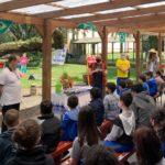 Boi de Mamão da Unesc visita escola em Turvo
